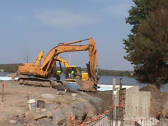 Arrowhead Lake Clubhouse site work