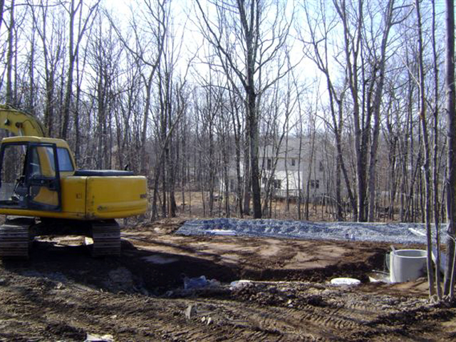 Delta Homes septic work