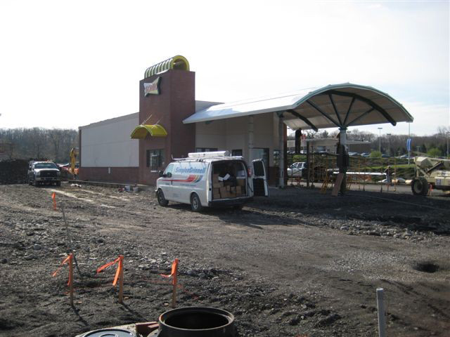 Site work begins for a new Sonic in Kingston, N.Y.